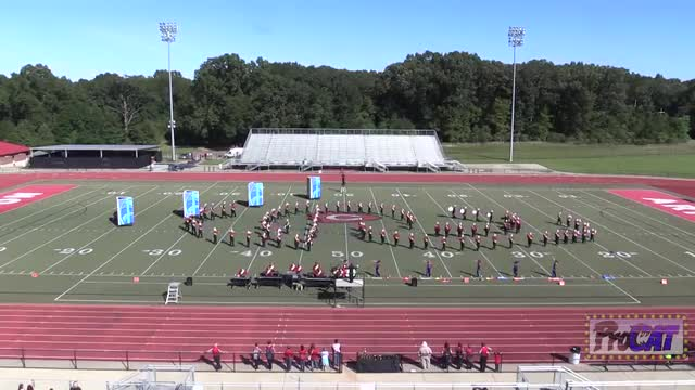 Kosciusko High Band at 2014 Arrow Invitational MBF in Clinton, Mississippi WIDE ANGLE ONLY