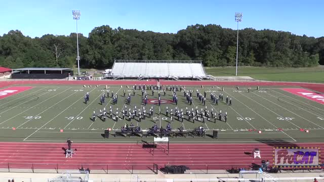 Pearl High Band at 2014 Arrow Invitational MBF in Clinton, Mississippi WIDE ANGLE ONLY