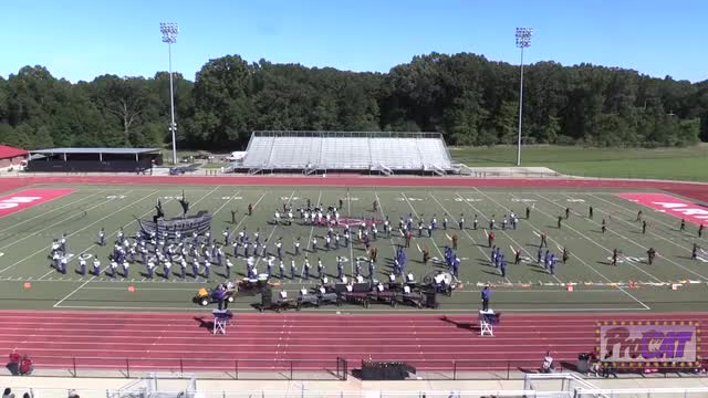 Warren Central High Band at 2014 Arrow Invitational MBF in Clinton, Mississippi WIDE ANGLE ONLY