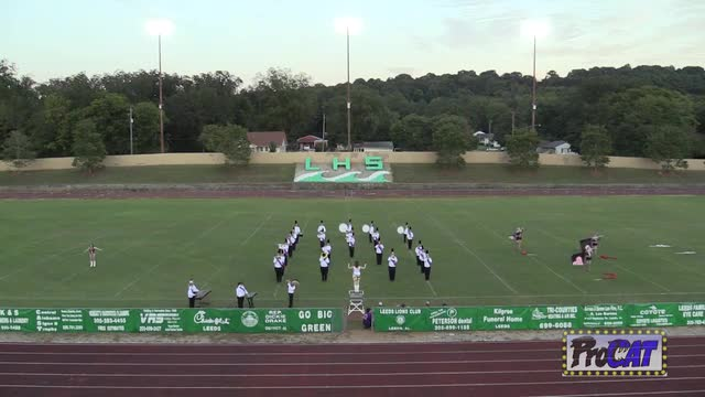 Ragland High Band at 2014 St. Clair Expo MBF in Moody, Alabama WIDE ANGLE ONLY