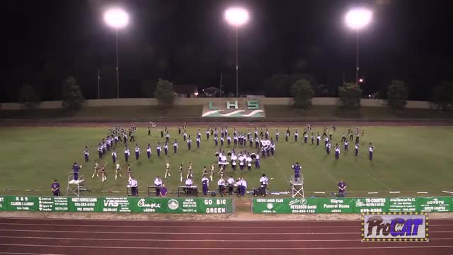 Springville High Band at 2014 St. Clair Expo MBF in Moody, Alabama WIDE ANGLE ONLY
