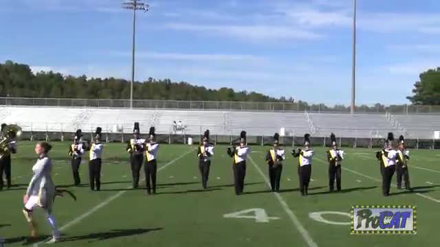 Corner High Band at 2014 Hoover Invitational MBF in Hoover, Alabama