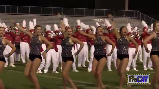 Hewitt Trussville High Band at 2014 Hoover Invitational MBF in Hoover, Alabama