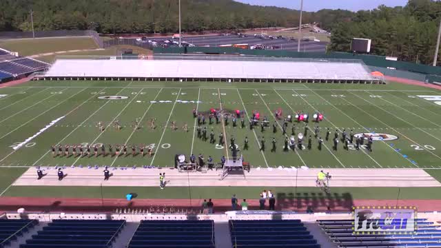 Jemison High Band at 2014 Hoover Invitational MBF in Hoover, Alabama