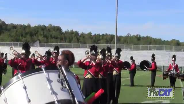 Lafayette High Band at 2014 Hoover Invitational MBF in Hoover, Alabama
