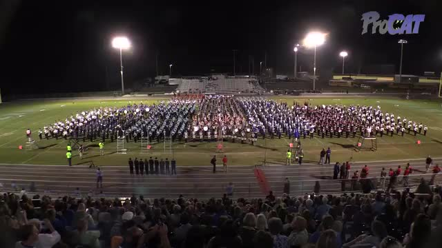Mass Band at 2015 Shelby County Showcase in Helena, Alabama