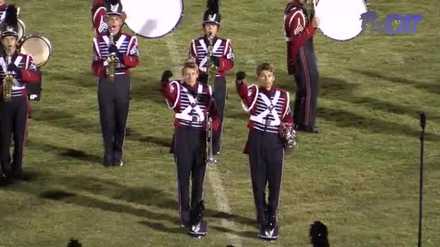 Oak Mountain High Band at 2015 Shelby County Showcase in Helena, Alabama