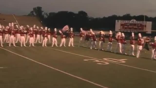 Hewitt Trussville High Band at 2012 Heart of Dixie MBF in Prattville, Alabama