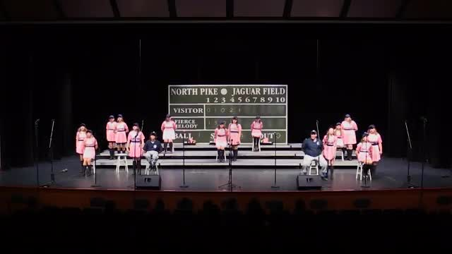 North Pike Fierce Melody Performance at 2015 Jackson Academy Show Choir Invitational  in Jackson, MS