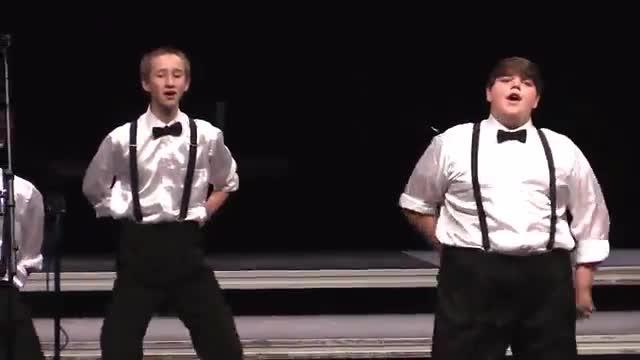 Northeast Jones Tiger Vibe Performance at 2015 Jackson Academy Show Choir Invitational  in Jackson, MS