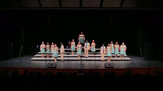 Wayne County Orange Sensations Performance at 2015 Jackson Academy Show Choir Invitational  in Jackson, MS
