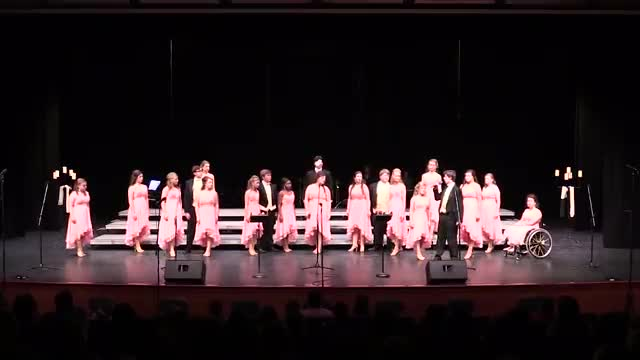 Pisgah Innergy Performance at 2015 Jackson Academy Show Choir Invitational  in Jackson, MS