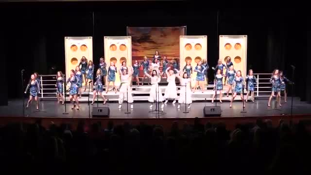 Jackson Prep Reveillon Finals Performance at 2015 Jackson Academy Show Choir Invitational  in Jackson, MS