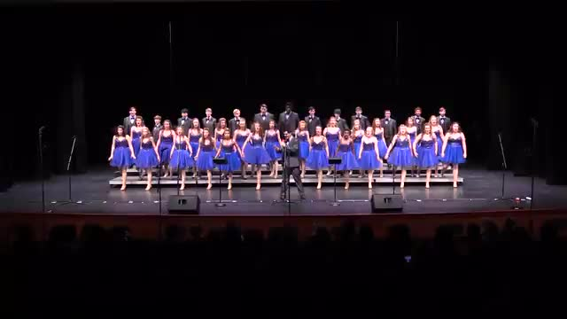Purvis Pizzaz Finals Performance at 2015 Jackson Academy Show Choir Invitational  in Jackson, MS