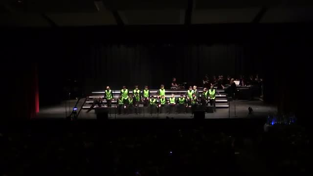 Albertville Middle Choir VocalPoint Performance at 2014 South Central Classic in Homewood, AL