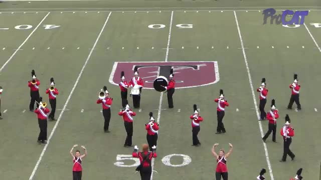 Fyffe High Band at 2015 Mid South MBF in Gadsden, Alabama
