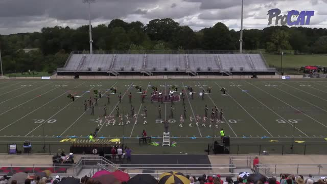 Boaz High Band at 2015 Mid South MBF in Gadsden, Alabama