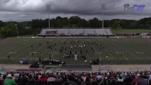 Crossville High Band at 2015 Mid South MBF in Gadsden, Alabama