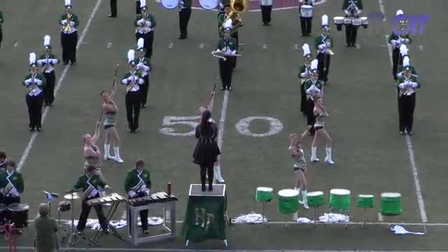 Holly Pond High Band at 2015 Mid South MBF in Gadsden, Alabama