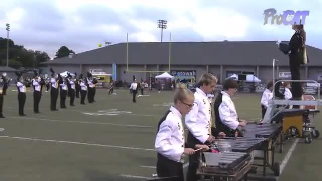 Scottsboro High Band at 2015 Mid South MBF in Gadsden, Alabama