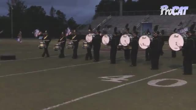 Pell City High Band at 2015 Mid South MBF in Gadsden, Alabama