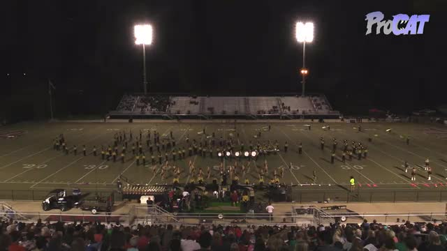 Oxford High Band at 2015 Mid South MBF in Gadsden, Alabama