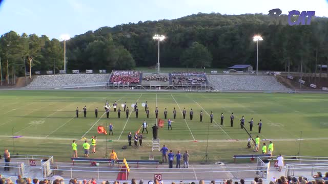 Falkville High Band at 2015 North Alabama Night of Bands in Somerville, Alabama