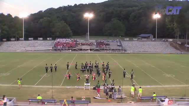 Tanner High Band at 2015 North Alabama Night of Bands in Somerville, Alabama