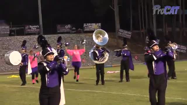 Danville High Band at 2015 North Alabama Night of Bands in Somerville, Alabama