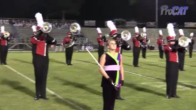 Decatur High Band at 2015 North Alabama Night of Bands in Somerville, Alabama