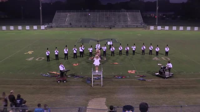 Ragland High Band at 2015 St Clair Expo MBF in Leeds, Alabama - Wide Angle Only