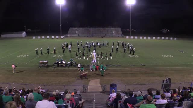 Ashville High Band at 2015 St Clair Expo in Leeds, Alabama - Wide Angle Only