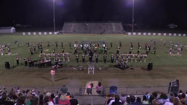 Leeds High Band at 2015 St Clair Expo in Leeds, Alabama - Wide Angle Only