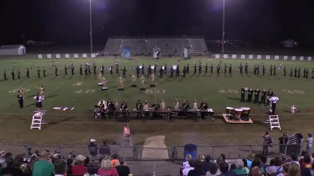 Pell City High Band at 2015 St Clair Expo in Leeds, Alabama - Wide Angle Only