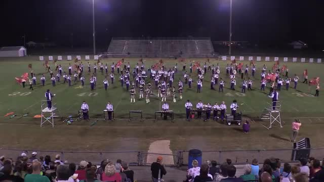 Springville High Band at 2015 St Clair Expo in Leeds, Alabama - Wide Angle Only