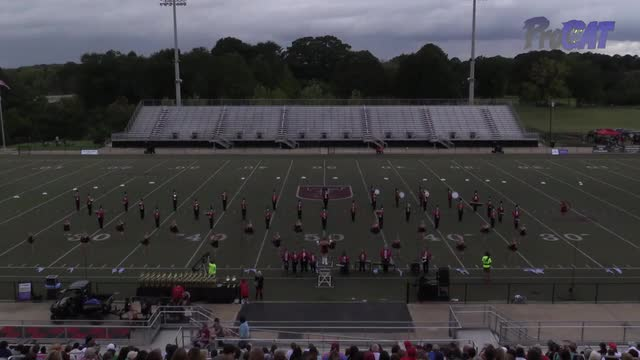 Gaston High Band at 2015 St Clair Expo in Leeds, Alabama - Wide Angle Only