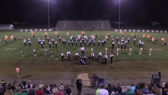 Moody High Band at 2015 St Clair Expo in Leeds, Alabama - Wide Angle Only