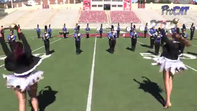 Piedmont High Band at 2015 JSU Contest of Champions MBF in Jacksonville, Alabama