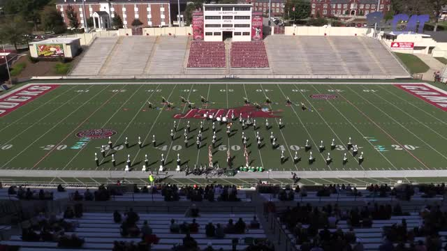 Holly Pond High Band at 2015 JSU Contest of Champions MBF in Jacksonville, Alabama