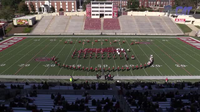 Sylacauga High Band at 2015 JSU Contest of Champions MBF in Jacksonville, Alabama