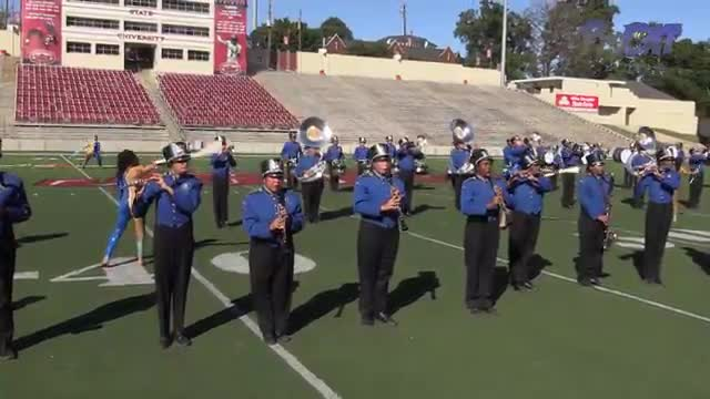 Phil Campbell High Band at 2015 JSU Contest of Champions MBF in Jacksonville, Alabama