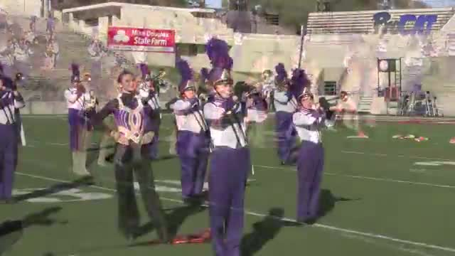Springville High Band at 2015 JSU Contest of Champions MBF in Jacksonville, Alabama