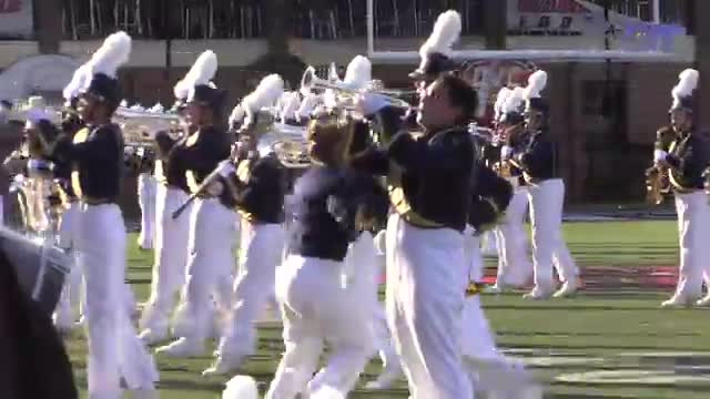 Buckhorn High Band at 2015 JSU Contest of Champions MBF in Jacksonville, Alabama