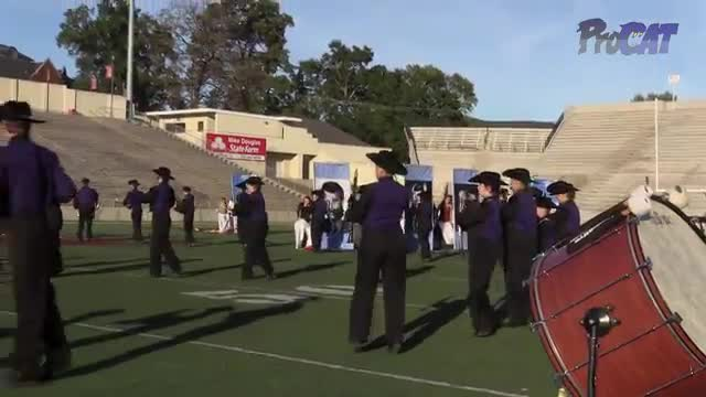 Villa Rica High Band at 2015 JSU Contest of Champions MBF in Jacksonville, Alabama