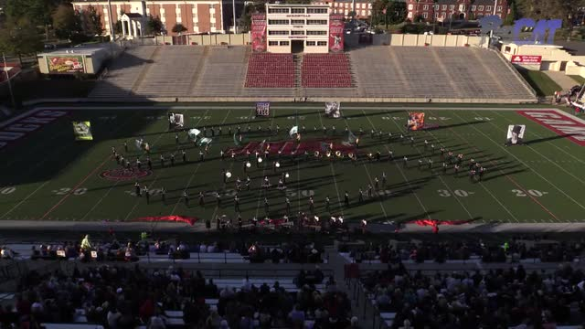 Cartersville High Band at 2015 JSU Contest of Champions MBF in Jacksonville, Alabama
