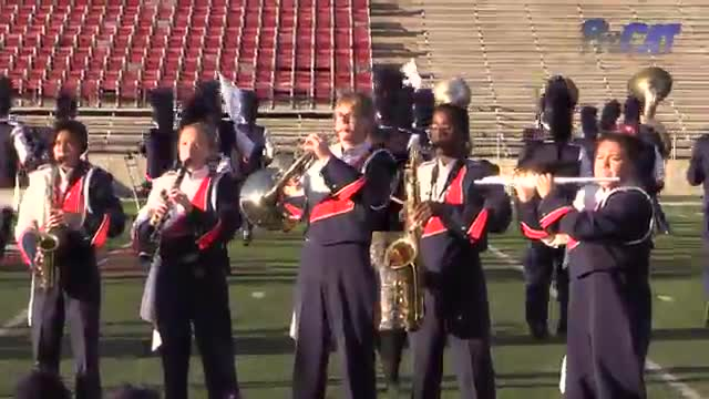 Escambia High Band at 2015 JSU Contest of Champions MBF in Jacksonville, Alabama