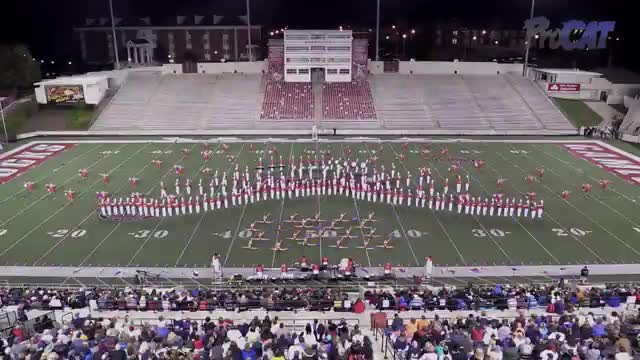 Hewitt Trussville High Band at 2015 JSU Contest of Champions MBF in Jacksonville, Alabama