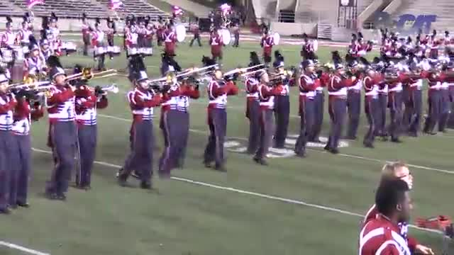 Oak Mountain High Band at 2015 JSU Contest of Champions MBF in Jacksonville, Alabama