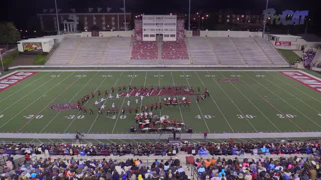 George Walton High Band at 2015 JSU Contest of Champions MBF in Jacksonville, Alabama
