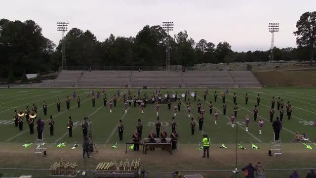 Bibb County High Band at 2015 Pirate Classic MBF in Winfield, Alabama